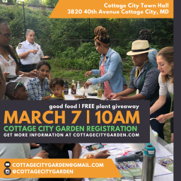 Cottage City Spring Garden Registration